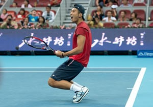 Unheralded Zhang deals out shock Gasquet defeat