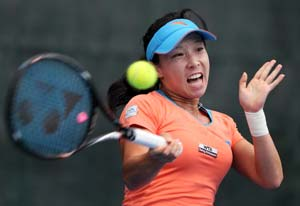 Zheng Jie clinches Auckland title