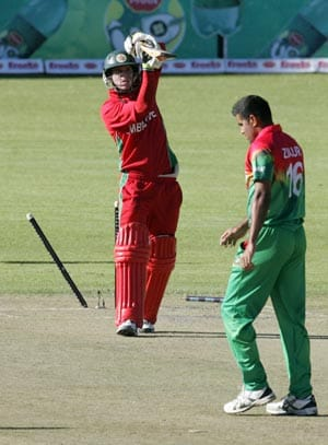 Ziaur Rahman takes five in Bangladesh victory vs Zimbabwe