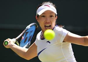 Wimbledon 2012: Zheng Jie buzzing for Olympics