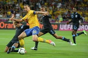 Ibrahimovic in doubt for Brazil friendly